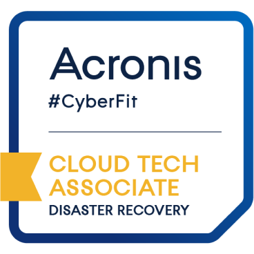 acronis disaster recovery expert