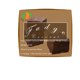 fudge label